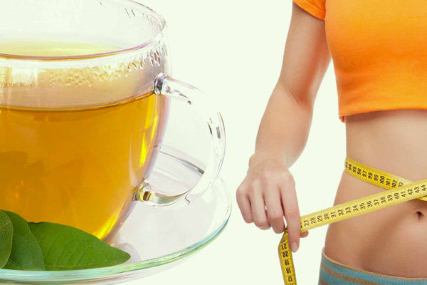 weight loss tea results