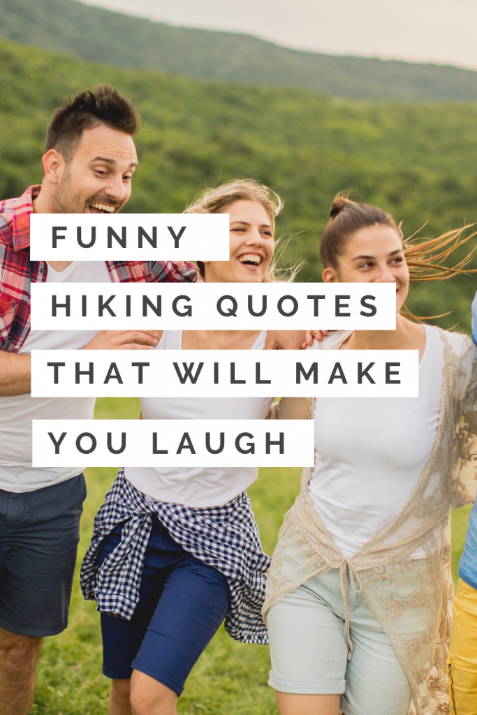 funny hiking